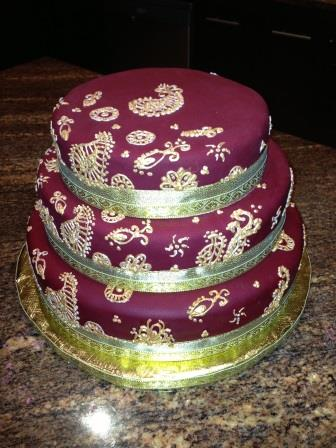 Indian Wedding Cake Web Page